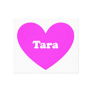 Tara Stretched Canvas Prints