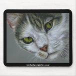 Tara - Cat Art Mouse Pad