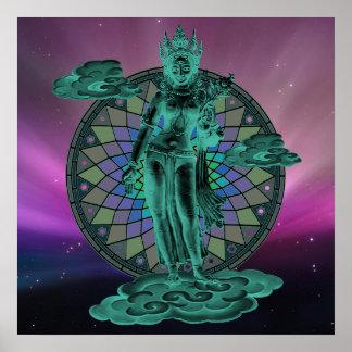 Tara, diosa de la compasión poster