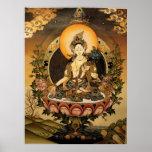 Tara Female Buddha Bodhisattva Jetsun Dolma Poster