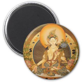 Tara (Female Buddha) Refrigerator Magnets