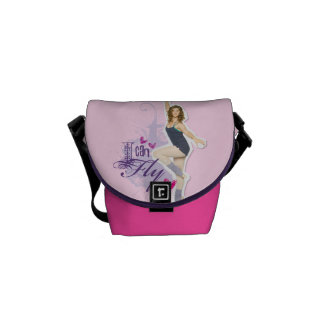 Tara: I Can Fly Messenger Bag