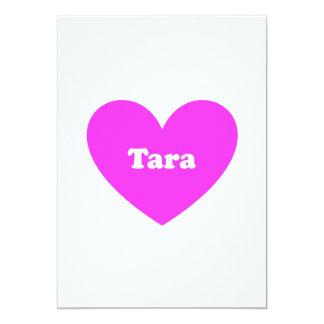 Tara 5x7 Paper Invitation Card