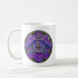 Tara mandala cup coffee mug