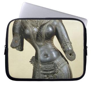 Tara, Nalanda, Bihar, Pala dynasty (stone) Computer Sleeve