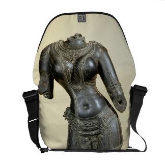 Tara, Nalanda, Bihar, Pala dynasty (stone) Messenger Bags