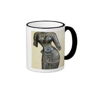 Tara, Nalanda, Bihar, Pala dynasty (stone) Ringer Coffee Mug