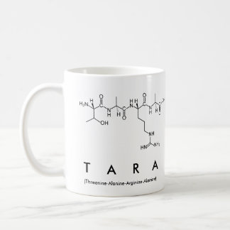 Tara peptide name mug