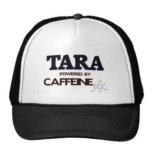 Tara powered by caffeine trucker hat