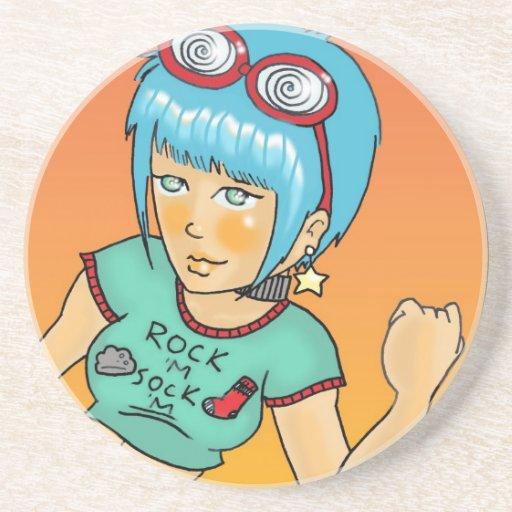 Tara Rock 'M Sock 'M Coaster