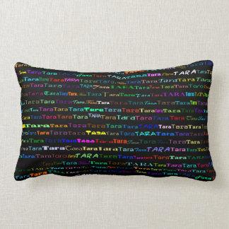 Tara Text Design I Lumbar Pillow