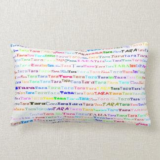 Tara Text Design II Lumbar Pillow