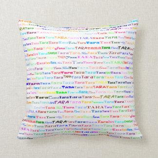 Tara Text Design II Throw Pillow