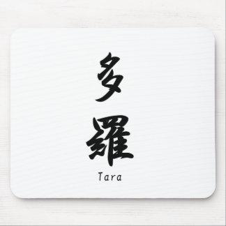 Tara tradujo a símbolos japoneses del kanji tapetes de raton