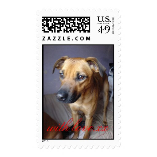tara, with love.xx postage stamps