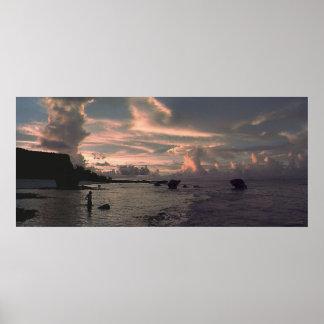 Tarague Sunset Poster