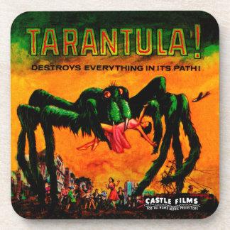 """Tarantula!"" 1950s Movie Film Box Beverage Coaster"