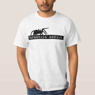 Tarantula Addict T-shirt (White)
