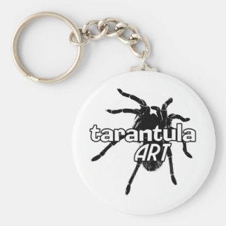 Tarantula Art Basic Round Button Keychain