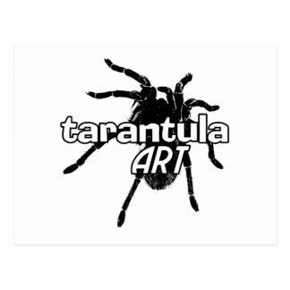 Tarantula Art Postcard