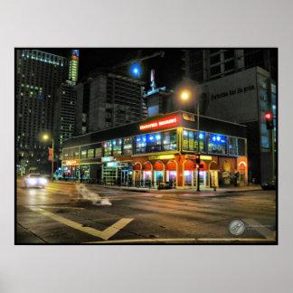 tarantula billiards poster