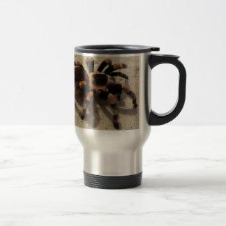 Tarantula brachypelma red knee poisonous coffee mug