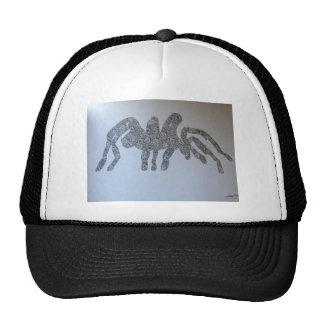 Tarantula drawing design cap