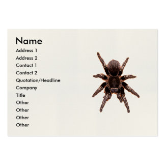 Tarantula Large Business Card