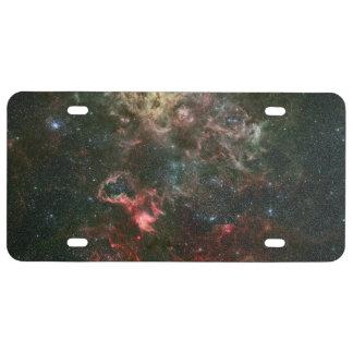Tarantula Nebula and its surroundings License Plate