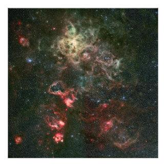 Tarantula Nebula and its surroundings Photo Art