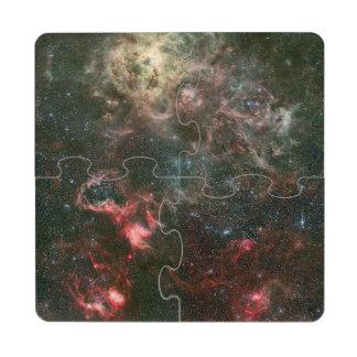 Tarantula Nebula and its surroundings Puzzle Coaster