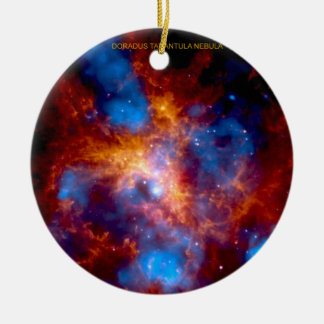 Tarantula Nebula Ceramic Ornament