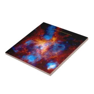 Tarantula Nebula Ceramic Tile