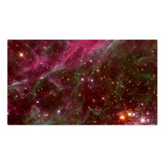 Tarantula Nebula Hubble Space Business Cards