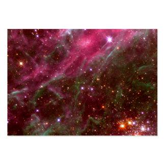 Tarantula Nebula Hubble Space Business Card Template