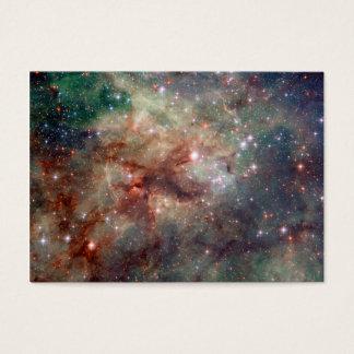 Tarantula Nebula Hubble Space Business Card