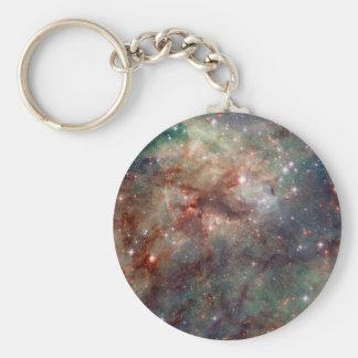 Tarantula Nebula Hubble Space Key Chain