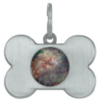Tarantula Nebula Hubble Space Pet Name Tag