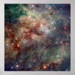 Tarantula Nebula Hubble Space Poster