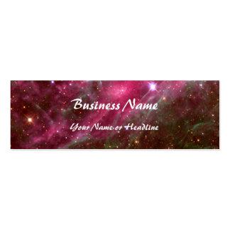 Tarantula Nebula Hubble Telescope Business Card Templates