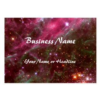 Tarantula Nebula Hubble Telescope Business Card Template