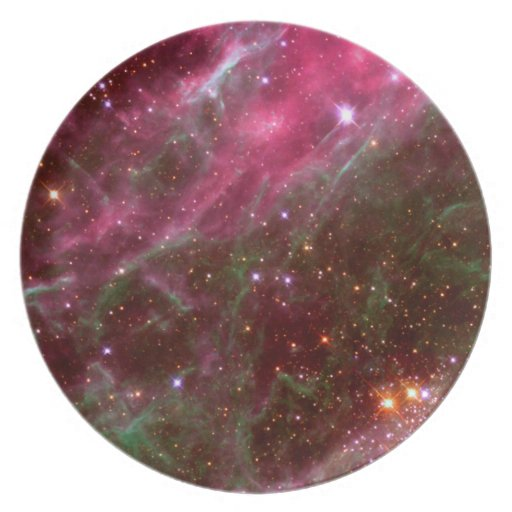 Tarantula Nebula (Hubble Telescope) Dinner Plate