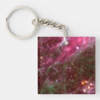 Tarantula Nebula (Hubble Telescope) Keychain