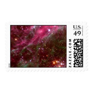 Tarantula Nebula (Hubble Telescope) Stamp