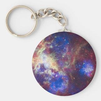 Tarantula Nebula Key Chains