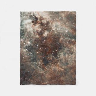 Tarantula Nebula Large Magellanic Cloud Fleece Blanket