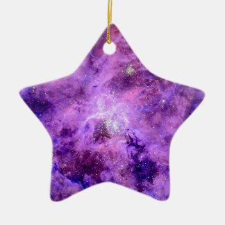 Tarantula Nebula Christmas Tree Ornaments