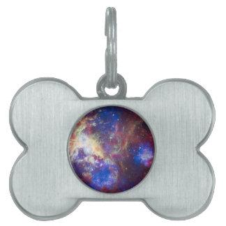 Tarantula Nebula Pet ID Tag
