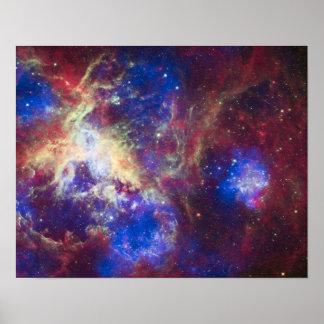 Tarantula Nebula Poster
