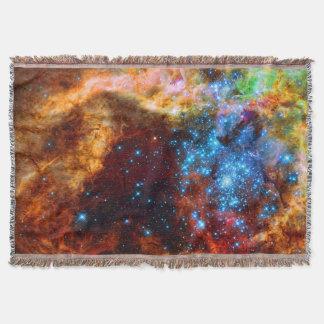 Tarantula Nebula R136 Astronomy Picture Throw Blanket